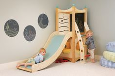 Rhapsody 1 Indoor Playsets and Playbeds | CedarWorks