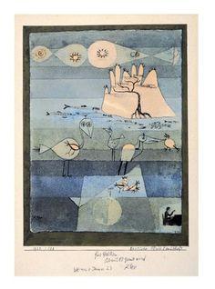 Paul Klee - Exotische Flusslandschaft (1922)