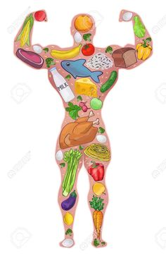healthy meals with chicken and vegetables nutrition information sheet Diet Breakfast, Breakfast For Kids, Bodybuilder, Healthy Eating Quotes, Healthy Man, Stay Healthy, Diabetic Dog, Vegetable Nutrition, Man Food