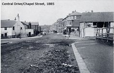 blackpool | Central Drive/Chapel Street 1885 Old Pictures, Old Photos, Blackpool, Bobs, Manchester, Past, Places To Go, Photographs, Memories
