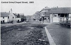 Central Drive/Chapel Street 1885