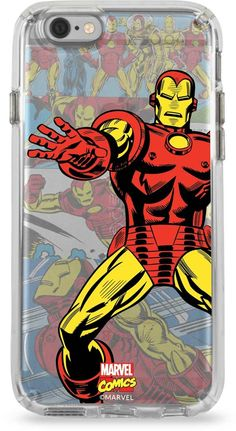 """Widely known as a """"Genius, Billionaire, Playboy, Philanthropist"""", Tony Stark is more importantly The Invincible Ironman, fighting for justice as a modern day knight in high-tech armor. Ironman uses his incredible intellect and immense financial backing to help lead The Avengers. Keep your iPhone looking sleek with vintage comic artwork on the exclusive Skinit x Ironman Marvel Collectors Edition iPhone case. Available for iPhone 6/6s & iPhone 6/6s Plus."""