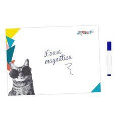 Lousa magnética (memoboard) - Cansei de Ser Gato