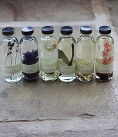 Natural Bath Flower Essences Imagine soaking in a bath with wonderful floral essential oils! And the packaging is lovely too! Homemade Essential Oils, Witch Aesthetic, Book Of Shadows, Herbal Medicine, Wiccan, Witchcraft, Diy Beauty, Luxury Beauty, Beauty Tips