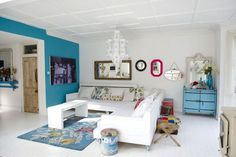 Beautiful Blue - Living Room Furniture & Designs - Decorating Ideas (houseandgarden.co.uk)