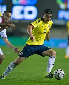 Soccer crack, James Rodriguez- Colombia. CA 2015