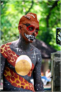 MUDPACK FESTIVAL held in Mambukal Mountain resort, Bacolod, Philippines   is a symbolic celebration of man's return to the primitive time