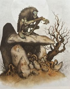 Gast Swedish folklore creature. If a person meets this creature it will suck the life out of you.