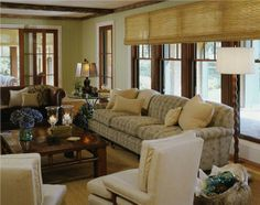 Country/Rustic (Country) Living & Family Room by Shari Lebowitz