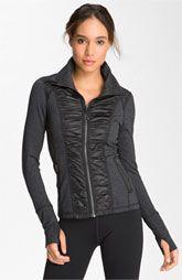 Zella Ruching Detailed Jacket... LOVE this jacket!