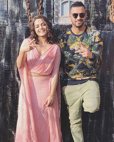 Punjabi Couple, Actor Model, Sunnies, Handsome, Sari, Celebs, Actors, Couples, Singers