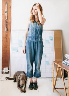 Imogene + Willie susie - the denim jumpsuit
