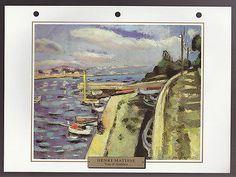 Henri Matisse Vue D'Antibes 1925 Art Print Painting Artwork Sheet | eBay