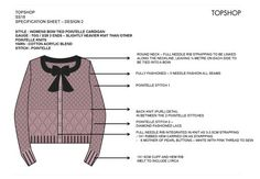 Our knitwear consultancy service is based in the UK and offers knitwear sample development, technical packs, swatching, fashion start up business advice and help with student projects. Christmas Jumpers, Chunky Cardigan, Knit Cardigan, Flat Drawings, Tech Pack, Journal Design, Fashion Labels, Baby Wearing