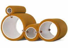 Tube Chair | Joe Colombo for Flexform | 1969-1970