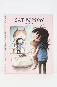 Cat Person By Seo Kim l #illustration
