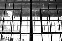 Window Panes. Ogden Utah. Black and white. High Contrast. Photo by Harvey Brand Imagery