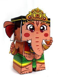 Ganesh paper doll