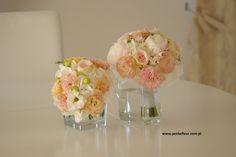 PetiteFleur Dekoracje Ślubne Płock Wedding Bouquet Eustoma, Peonia & Hydrangea