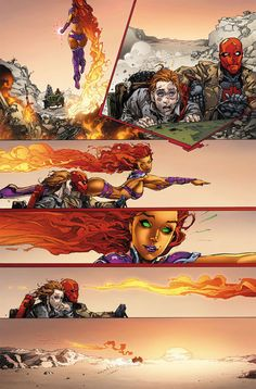 Red Hood and the Outlaws - November 2011 how dare he insult jaybird Comic Book Characters, Comic Character, Comic Books Art, Character Design, Dc Comics Art, Marvel Dc Comics, Comics Girls, Starfire Comics, Redhood And The Outlaws
