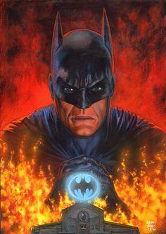Batman & The Dark Knights of Gotham — mi-meng:   Glenn Fabry