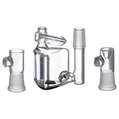 Hamm's Waterworks Glass – Tiny Prism Vapor Bubbler with Exo-Diffy Perc – Black - http://potterest.com/pin/hamms-waterworks-glass-tiny-prism-vapor-bubbler-with-exo-diffy-perc-black/