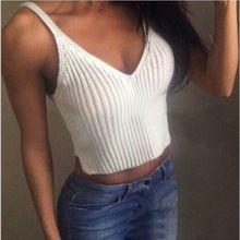 2016 летний стиль женщины спорт жилеты новый ремень растениеводство топы мода вязаные топы сексуальный шеи slim-подходят майки 4 цветов(China (Mainland))