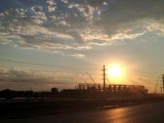"""#Baylor's future is bright. #SicEm"" // Baylor Stadium photo via JeffKleck on Twitter"