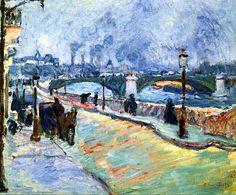 bofransson: The Quai de Paris Raoul Dufy - 1905-1906
