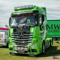 Mercedes Trucking