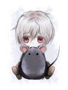 Chibi Shion And Rat