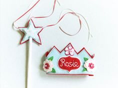 Custom felt crowns in Decoration stuff and supplies for babies and kids
