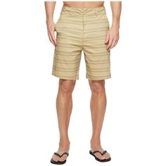 Body Glove Amphibious Cordy Shorts (Sand) Men's Swimwear ($50) ❤ liked on Polyvore featuring men's fashion, men's clothing, men's swimwear, men's apparel, mens swimshorts, mens swimwear, mens swim trunks and mens clothing