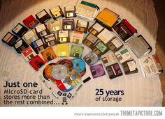 25 years of storage…