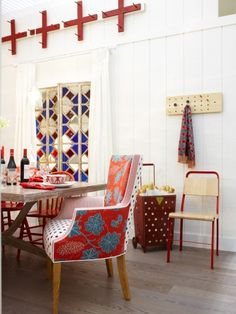 Eating: The Red Dining Room | Sarah Richardson Design