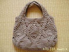 パイナップル編みのバッグの作り方|編み物|編み物・手芸・ソーイング|ハンドメイドカテゴリ|アトリエ