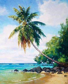 Watercolor Art Paintings, Watercolor Landscape Paintings, Indian Art Paintings, Landscape Drawings, Seascape Paintings, Landscape Art, Watercolor Artists, Oil Paintings, Painting Art