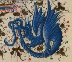 Detail from C1440 Catherine of Cleves Book of Hours MS M.945 ff. 100v-101r…