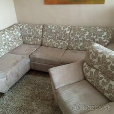 Predám sedaciu súpravu a rozťahovaciu posteľ - 1 Couch, Furniture, Home Decor, Settee, Decoration Home, Sofa, Room Decor, Home Furnishings, Sofas