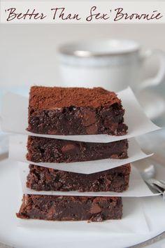 Better Than Sex Chocolate Chestnut Brownies (Gluten Free)