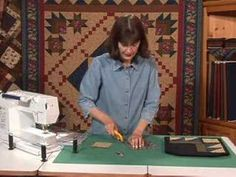 QNNtv Block-of-the-Month Glory Be! Quilt #5 - YouTube