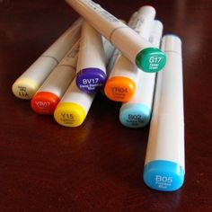 by Michelle Houghton    This is the 3rd article in a series by Michelle on copic markers. See the first: An Introduction to Copic Markers and the second: Bl
