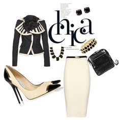 """Business Savvy"" by divakam on Polyvore"