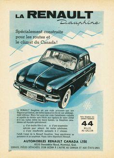 1959 Renault Dauphine Ad