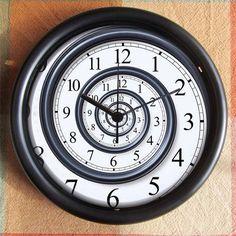 Reloj en espiral