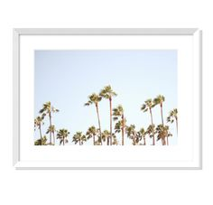 Palms No. 1 Thing 1, Palms, High Gloss, Tapestry, Art Prints, Frame, Photography, Shopping, Beautiful