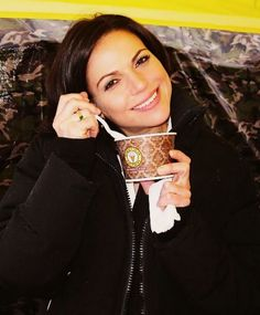 Look how cute Lana Parrilla is... I can't.