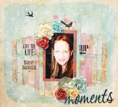 """Layout by More Than Words DT member Pamela Ellis inspired by the January """"Personality"""" & """"Selfie"""" Main Challenge. More details at http://morethanwordschallenge.blogspot.ca/2016/01/january-main-challenge-personality.html  #morethanwords #mtwchallenge #morethanwordschallenges #mtw"""