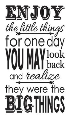Inspirational STENCIL *Enjoy the little things* for Painting Signs, Fabric, Canvas, Airbrush Happy Monday Quotes, Airbrush, Custom Stencils, Sign Quotes, Qoutes, Quotations, Price Quote, Daily Inspiration Quotes, Painted Signs