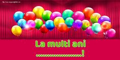 Felicitari personalizate de Ziua Numelui - La multi ani ...! La Multi Ani Constantin, Neon Signs, Movie Posters, Film Poster, Billboard, Film Posters